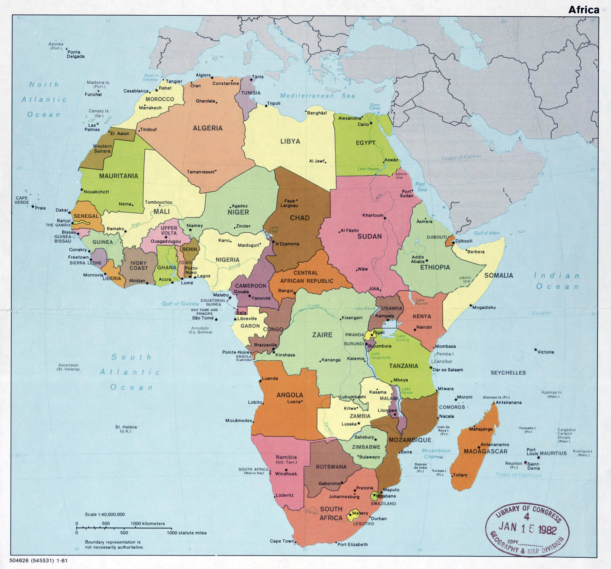 Map Of Africa 2017 Pictures to Pin on Pinterest - PinsDaddy
