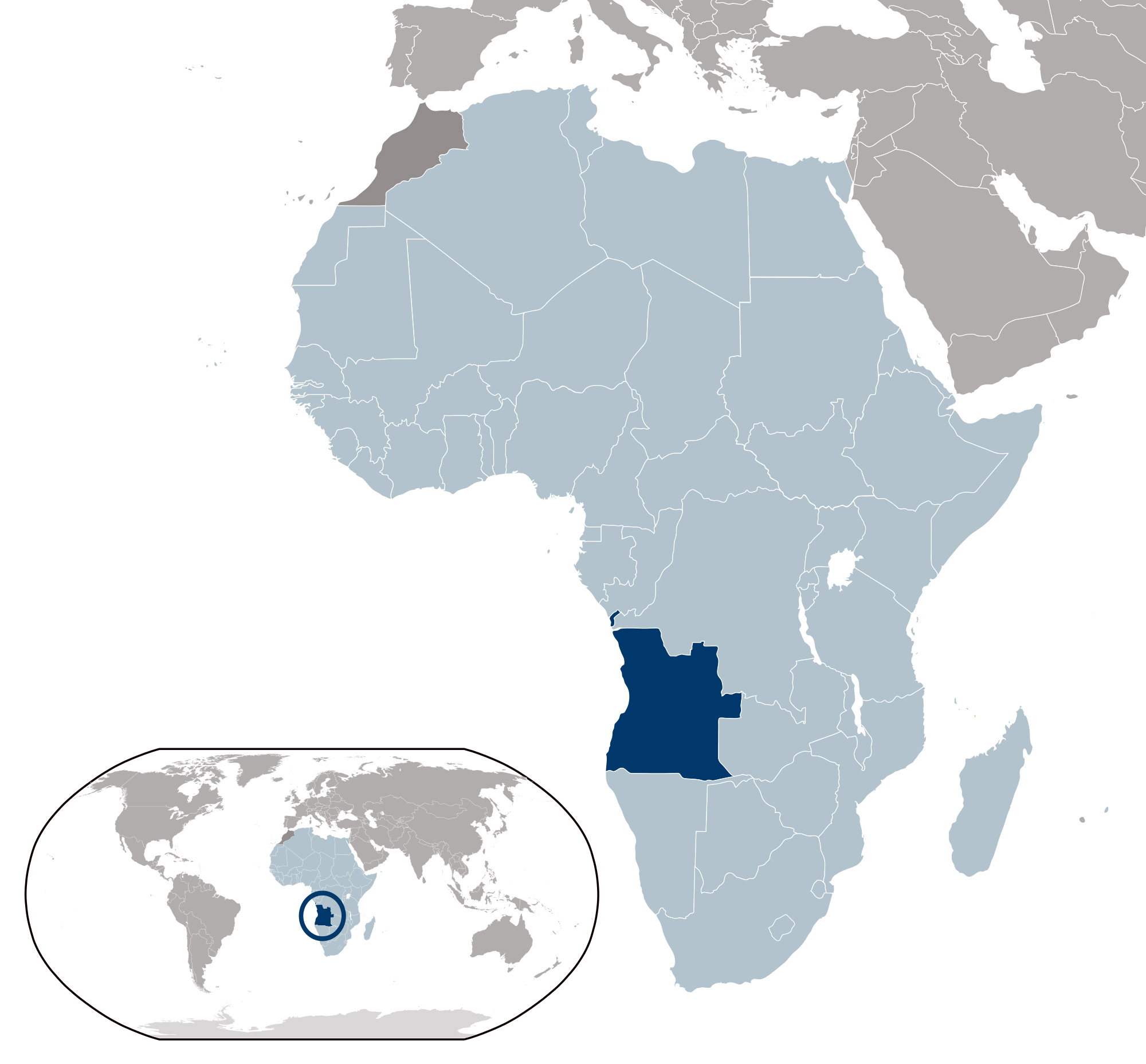detailed angola location map angola detailed location map, electrical diagram, where is angola located on the world map
