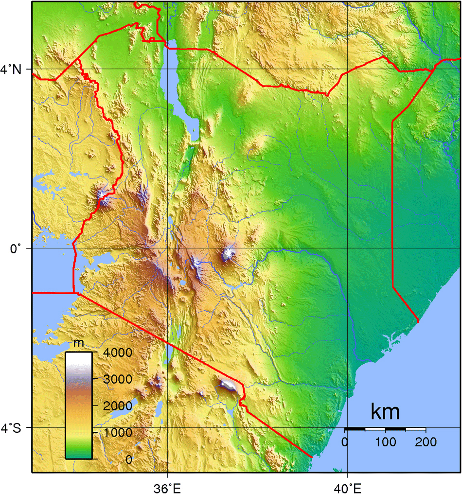 Large detailed kenya topographical map kenya large detailed large detailed kenya topographical map kenya large detailed topographical map gumiabroncs Choice Image