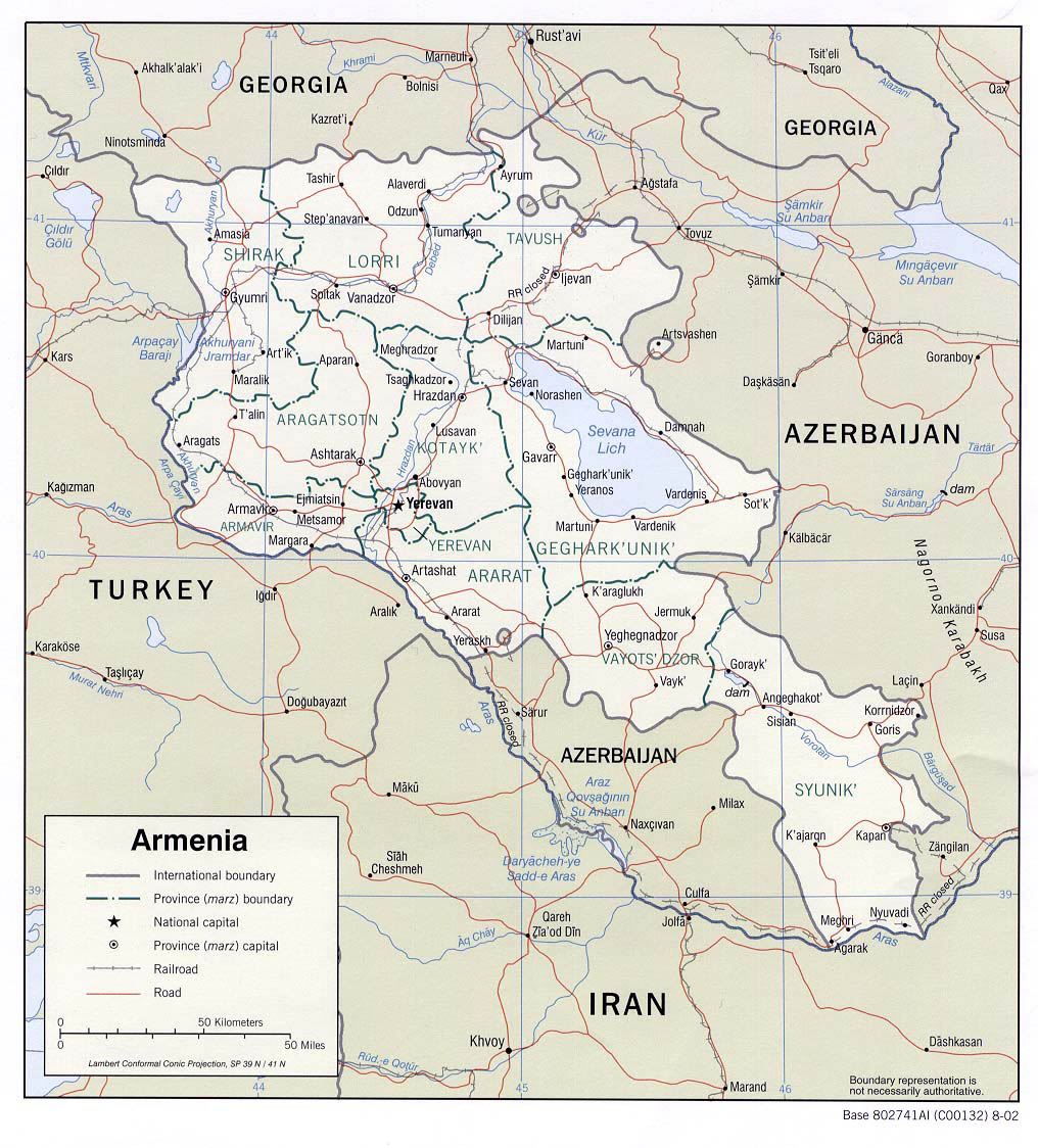Picture of: Detailed Road And Administrative Map Of Armenia Armenia Detailed Road And Administrative Map Vidiani Com Maps Of All Countries In One Place