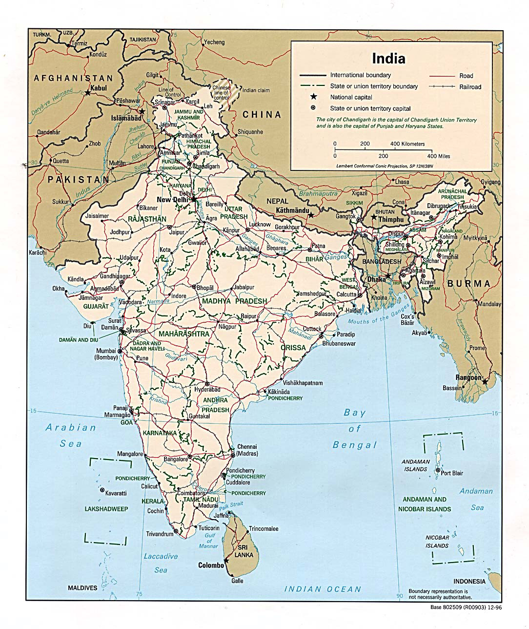 India+map+with+cities+free+download