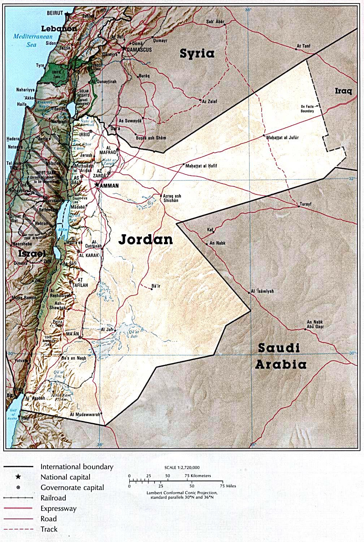 Detailed map of jordan country jordan country detailed map detailed map of jordan country jordan country detailed map gumiabroncs Gallery