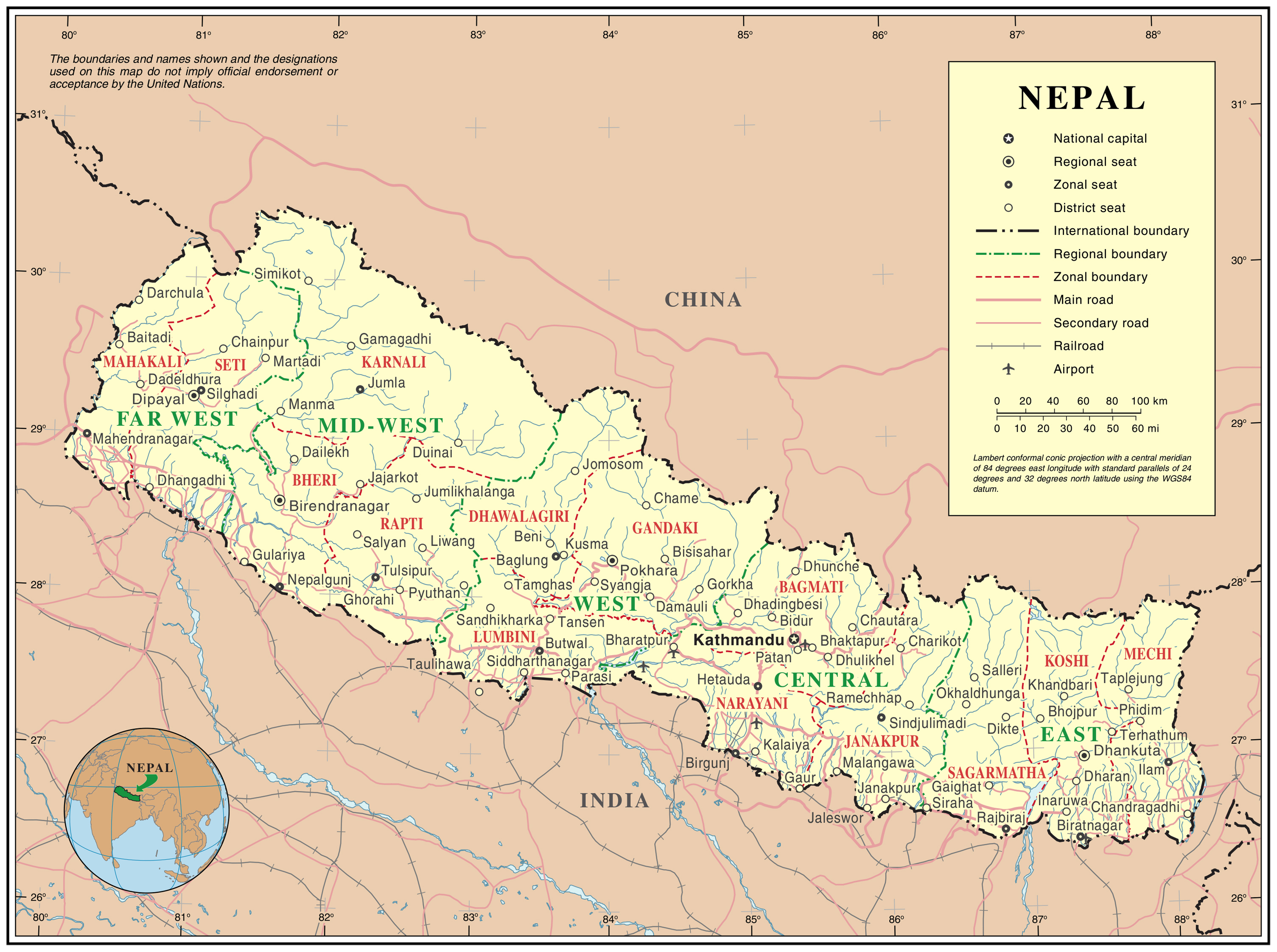 Large detailed political map of nepal nepal large detailed large detailed political map of nepal nepal large detailed political map gumiabroncs