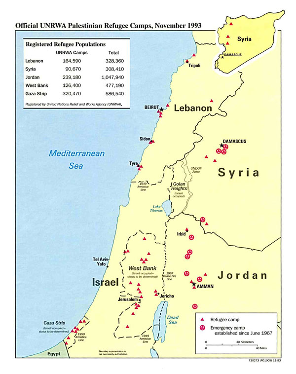 Detailed political map of Palestine. Palestine detailed political map.