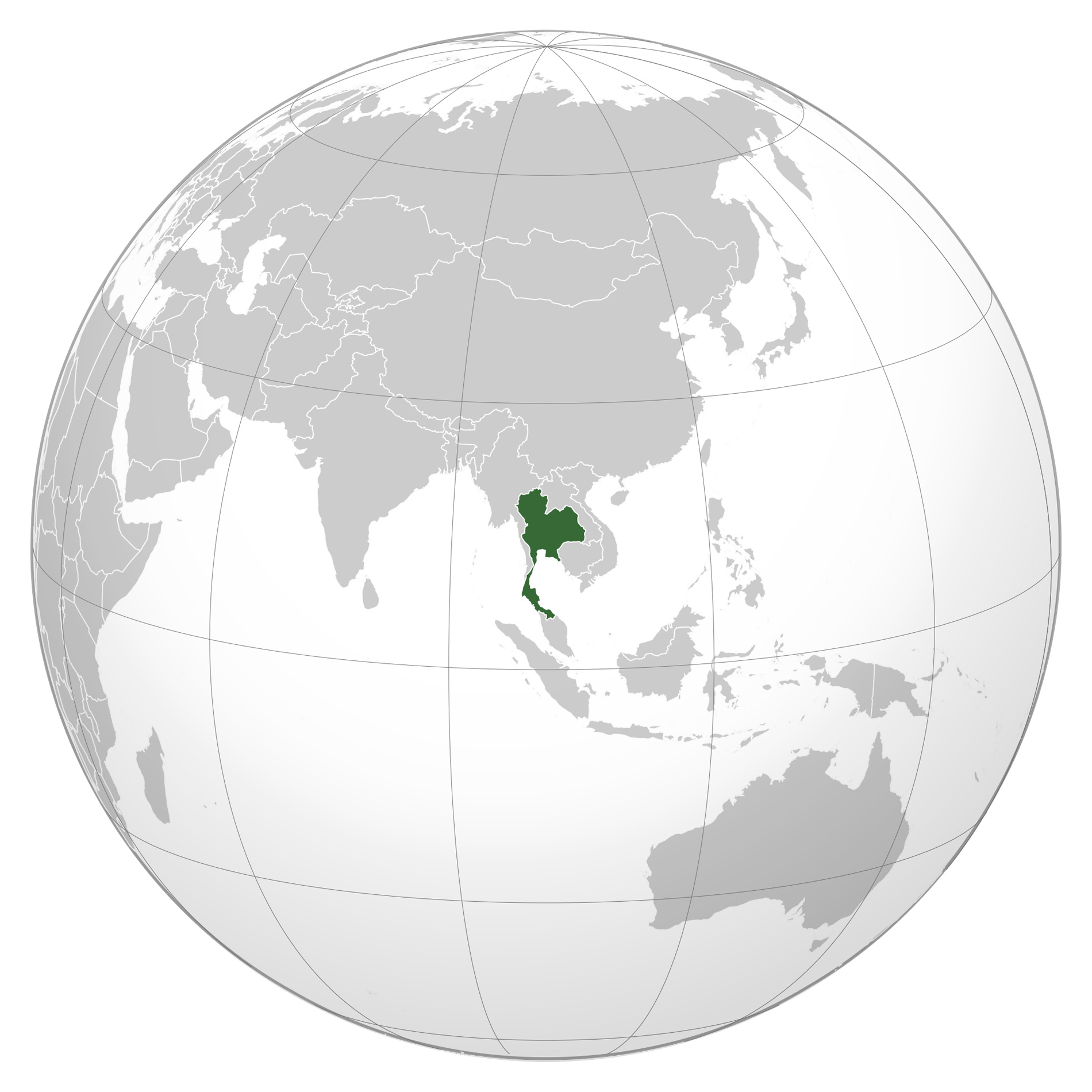 Large detailed Thailand location map. Thailand large detailed ...
