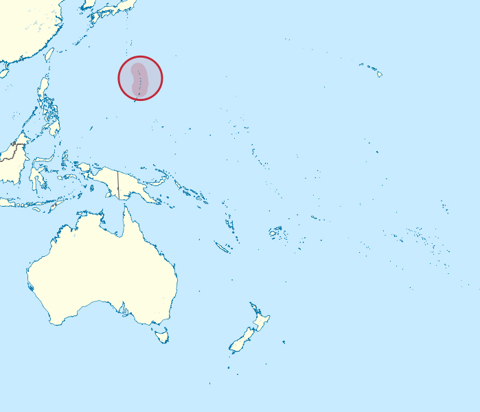 Detailed location map of Northern Mariana Islands. Northern Mariana Islands detailed location map.