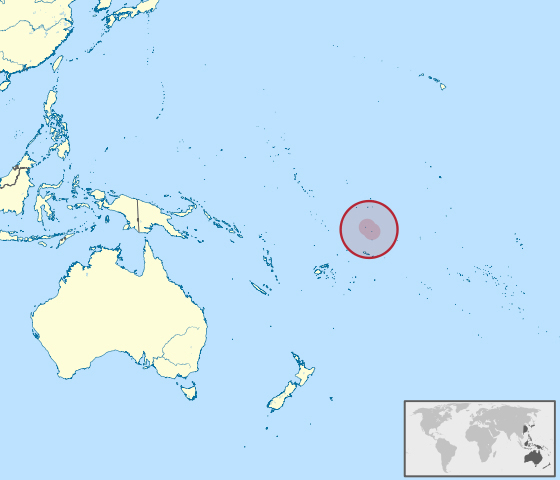 Tokelau Location Map Location Map Of Tokelau Vidianicom Maps - Tokelau map