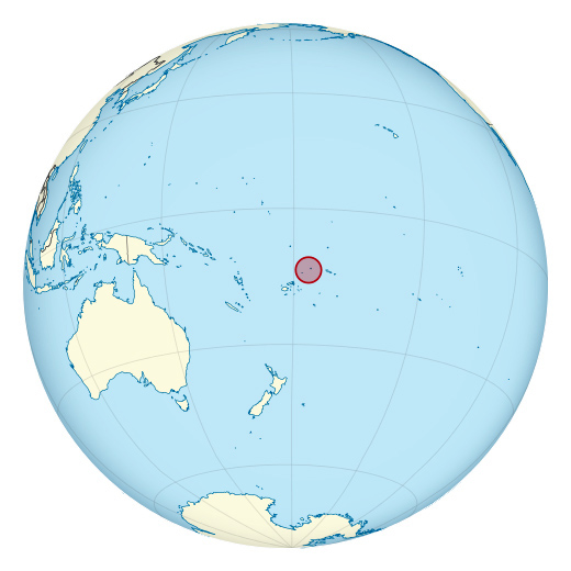 Wallis and Futuna location map. Location map of Wallis and Futuna.