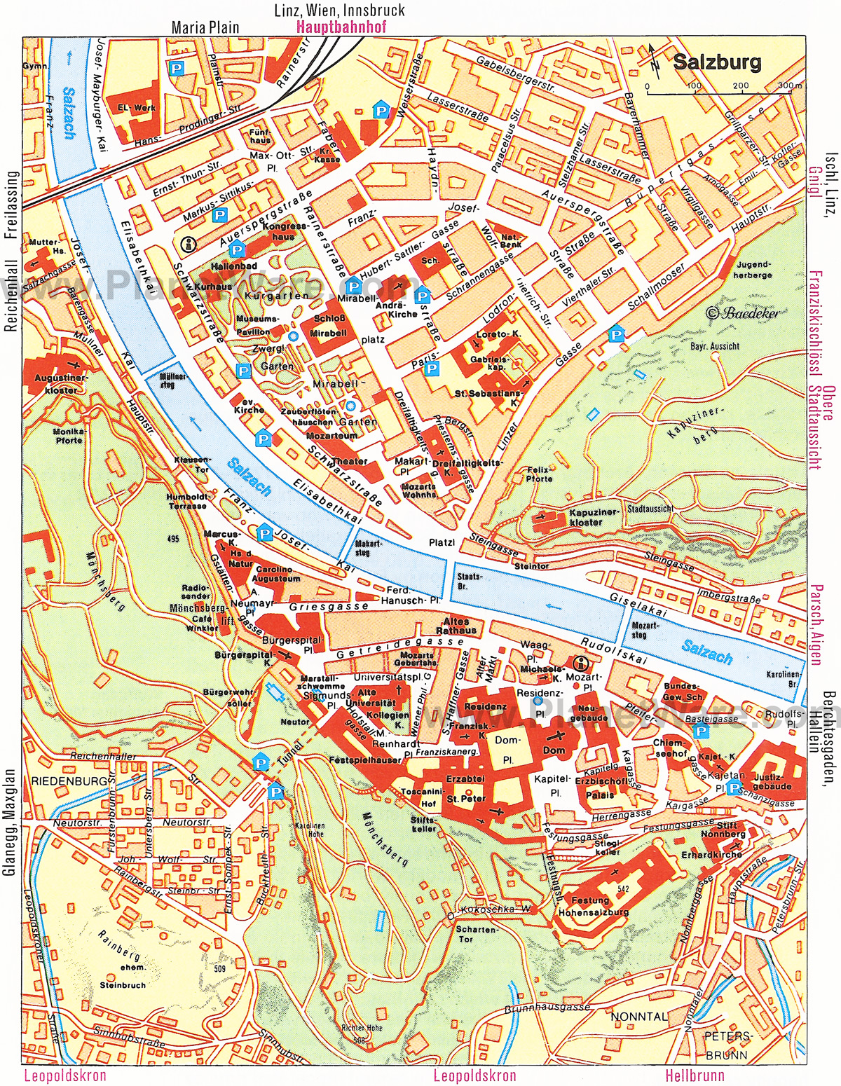City maps. Stadskartor och turistkartor - Travel Portal