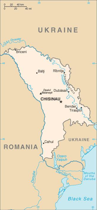 Political map of Moldova Moldova political map Vidianicom Maps