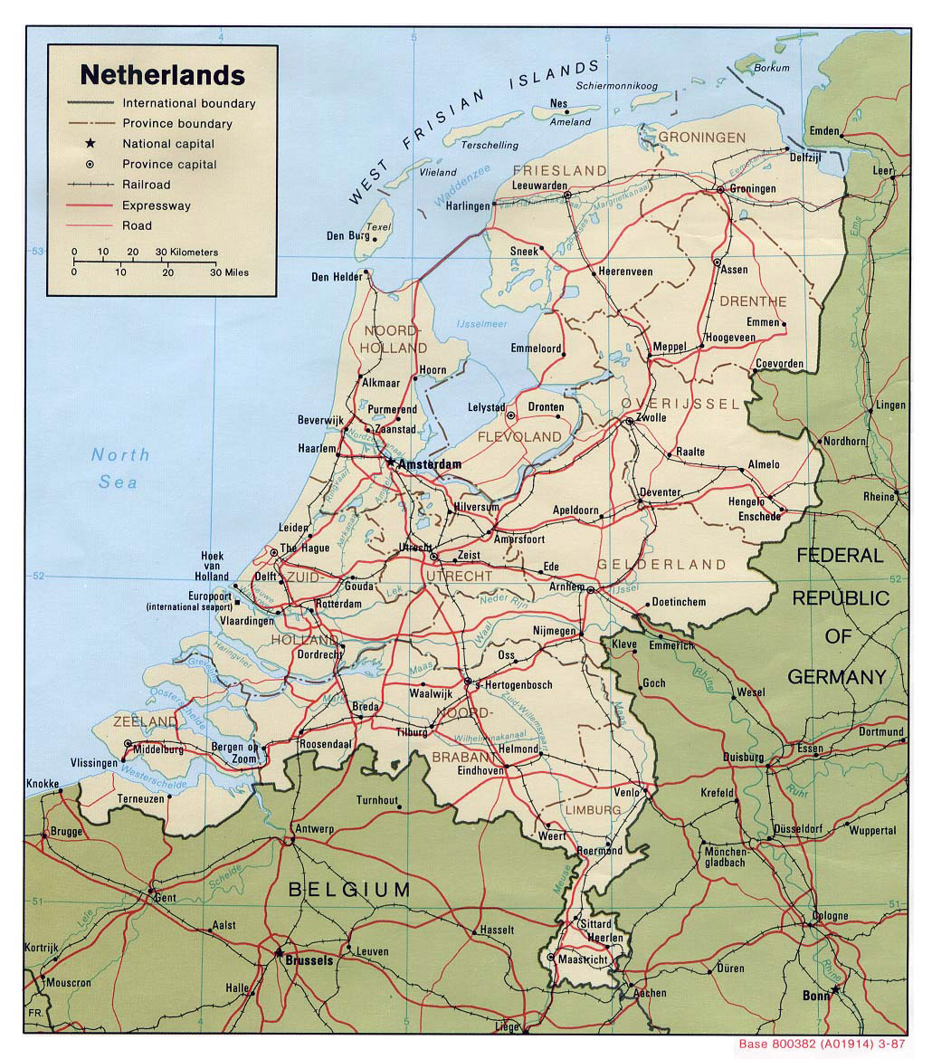 what country is the netherlands