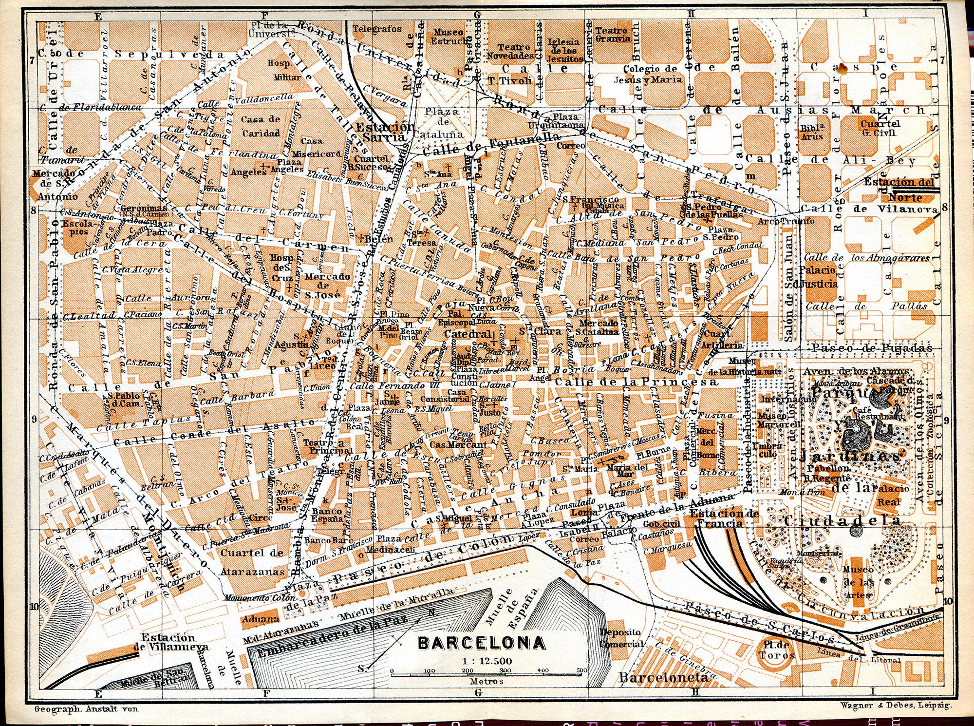 Barcelona City Map – Barcelona City Map Tourist