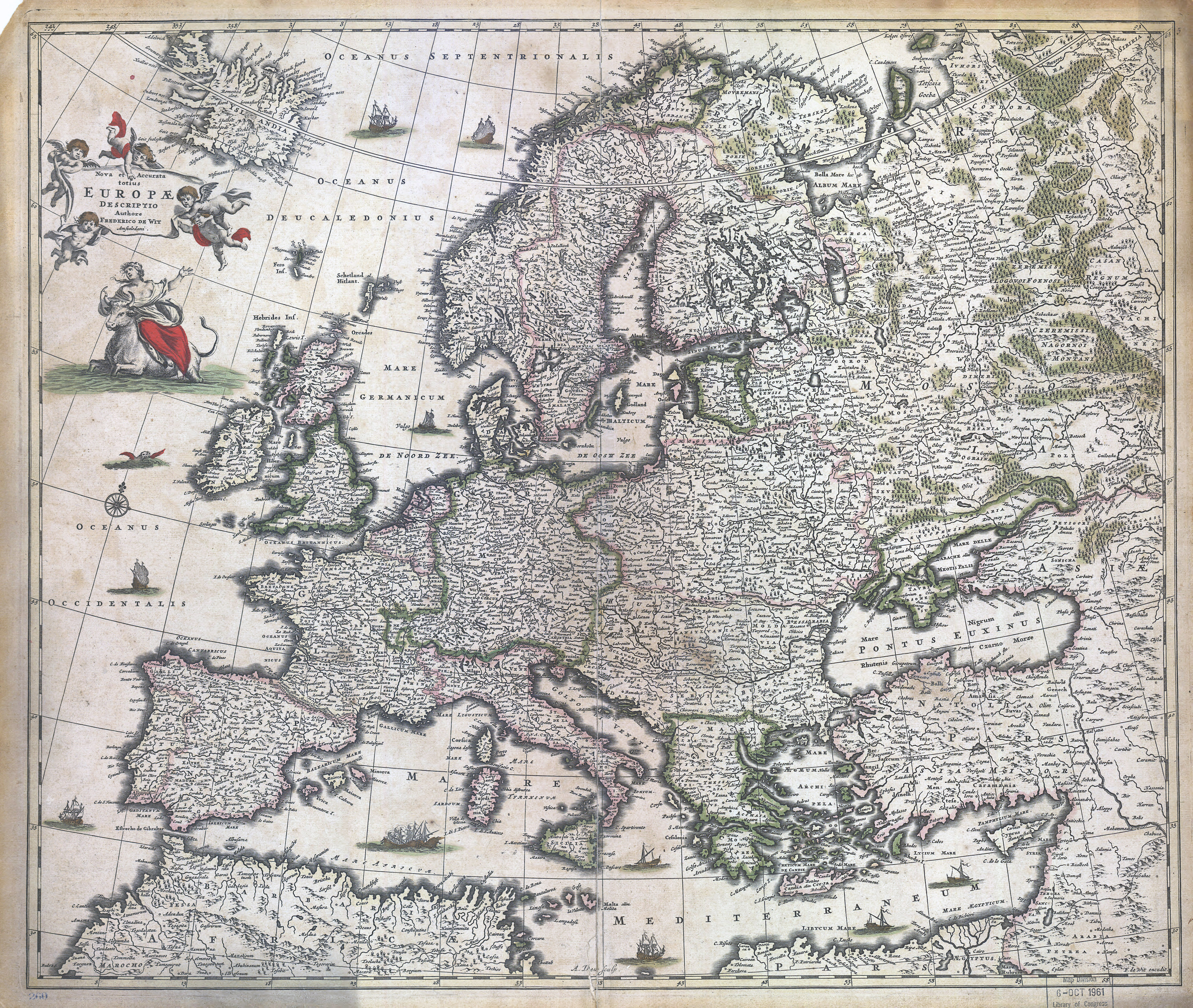 old map of europe Large scale detailed old map of Europe – 1700 | Vidiani.| Maps