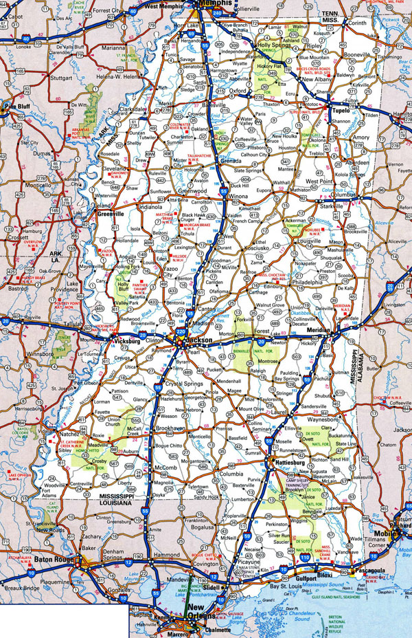 map of mississippi cities mississippi road map MEMES