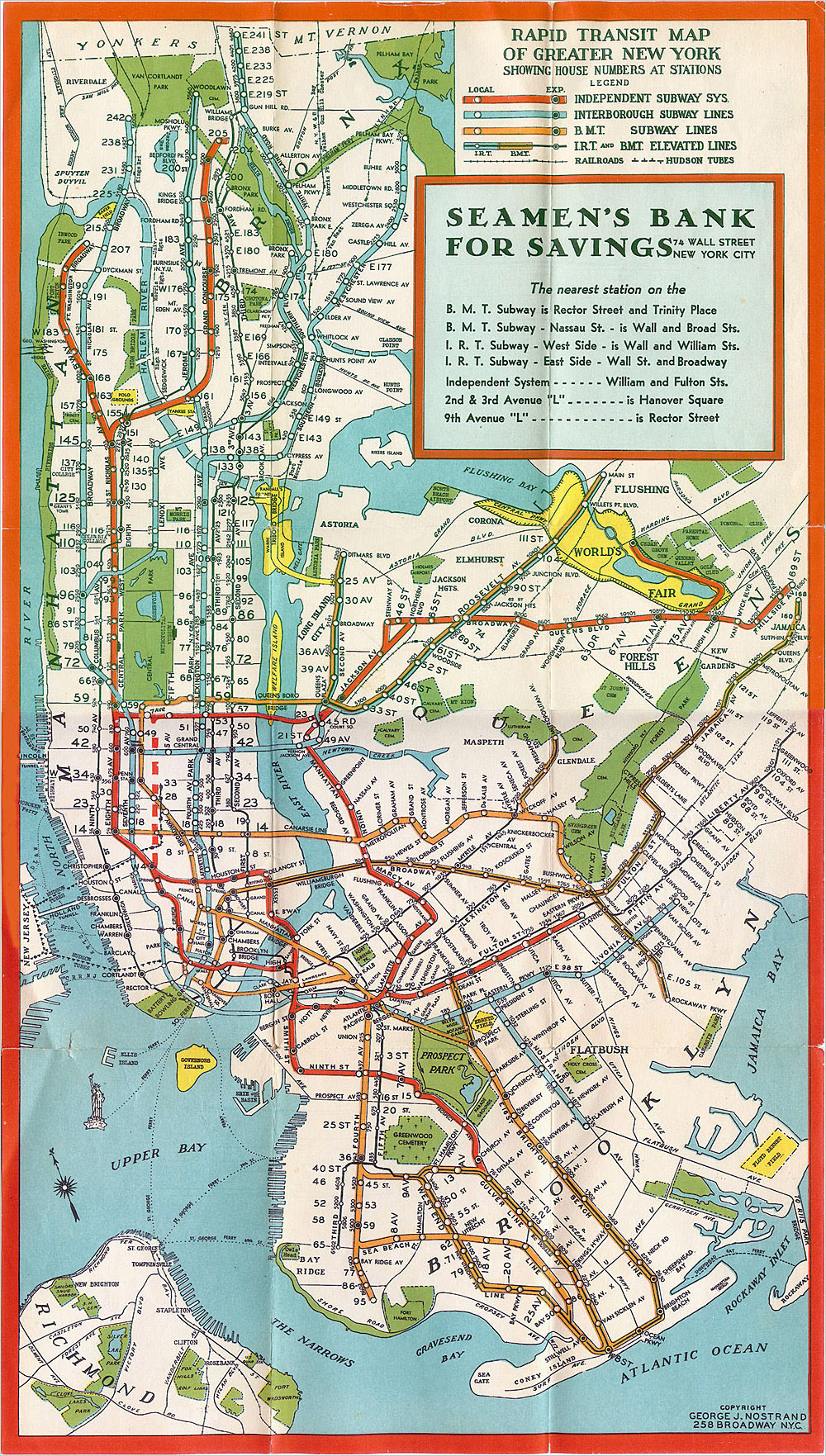 Subway Map New York Manhatten.Manhattan New York Subway Map 1930 Subway Map Of Manhattan New