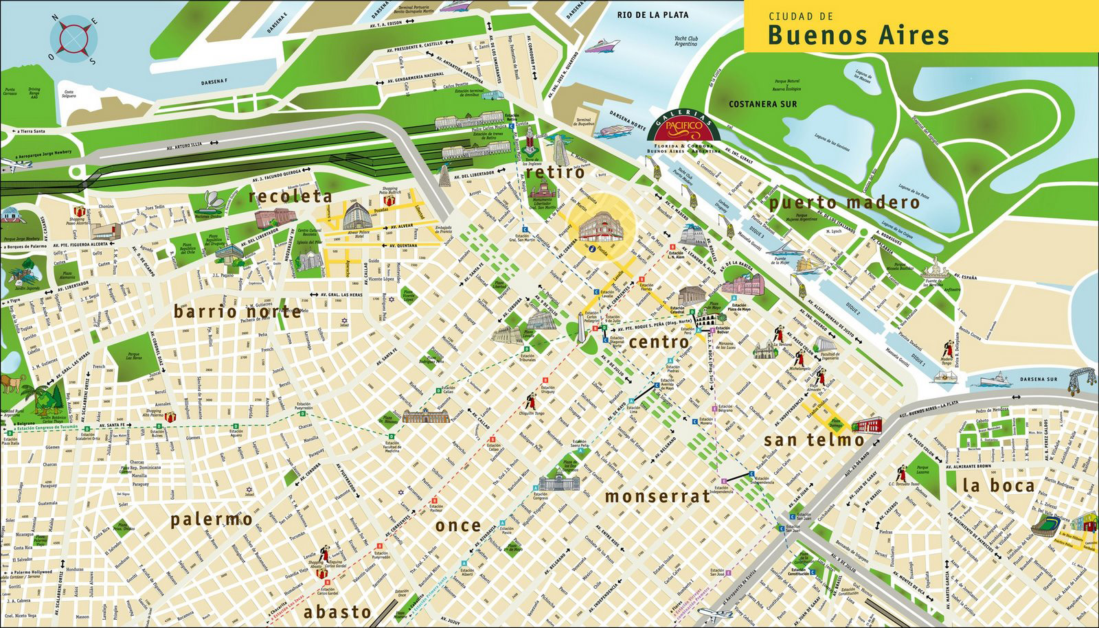 Street map Buenos Aires