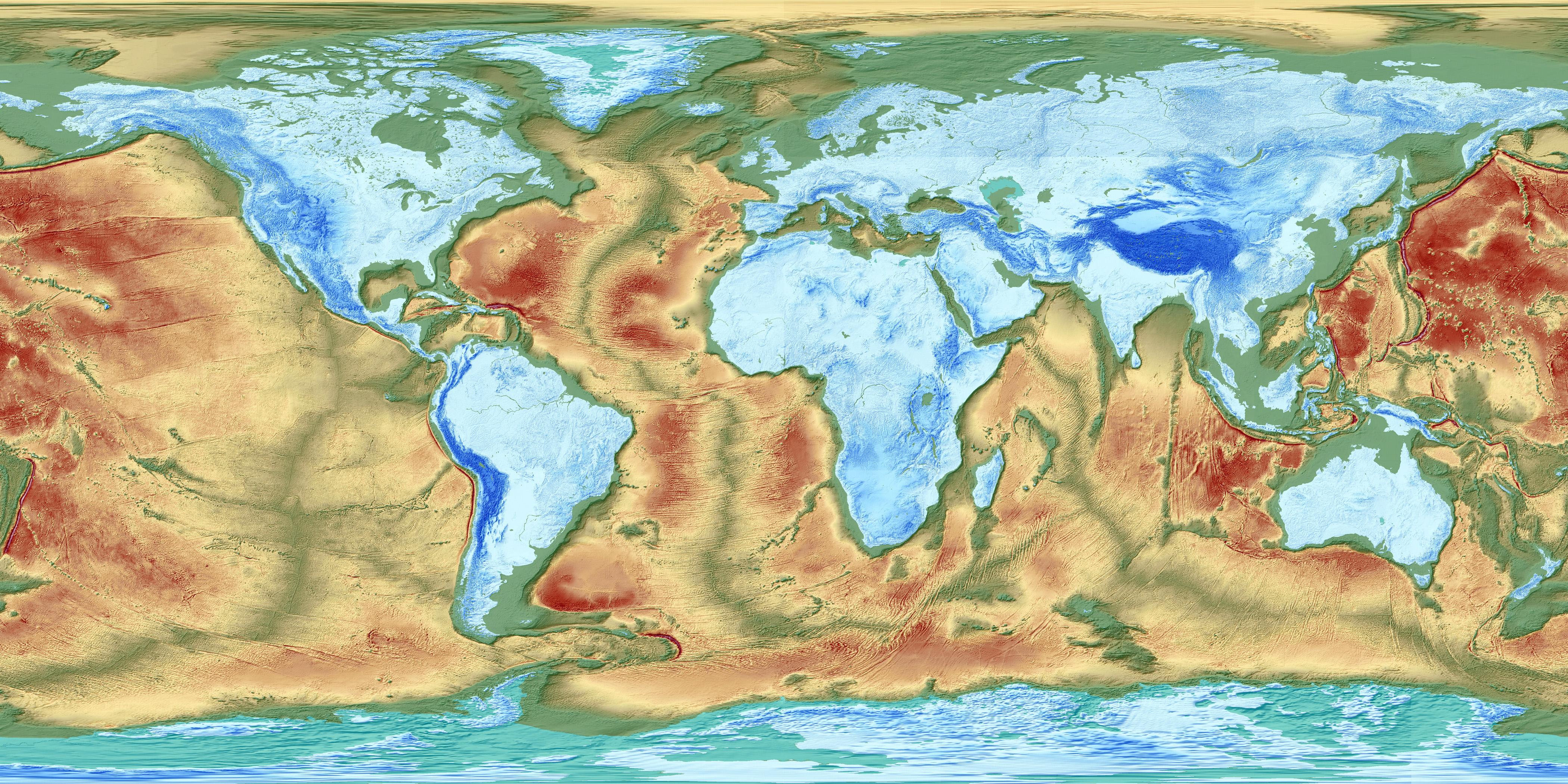 map of the earths fractured surface fractured surface earths map