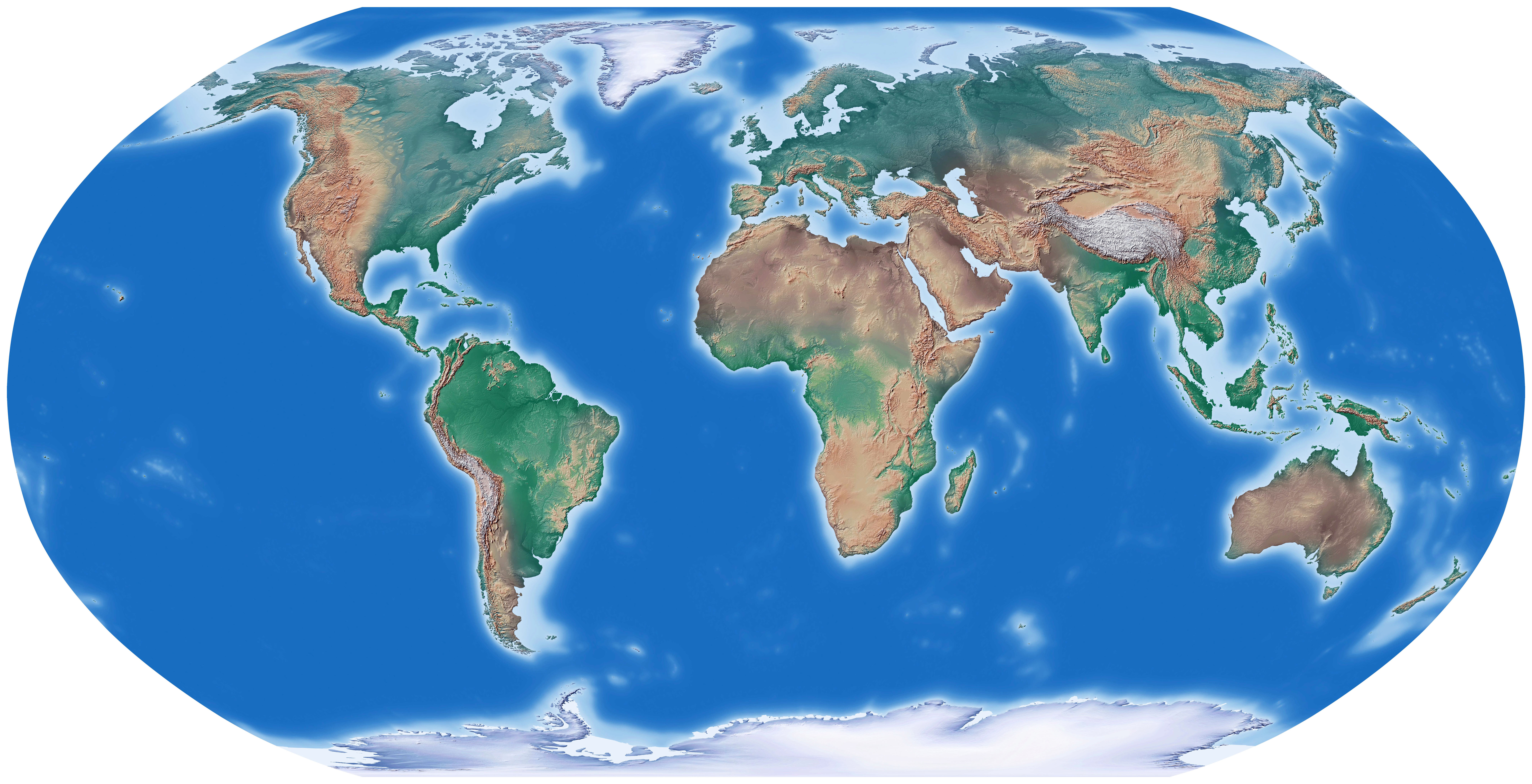 World Map In Commonpenceco - Give me a map of the world